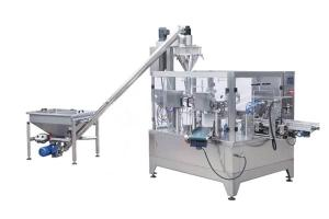 Powder Pouch Filling Sealing Machine